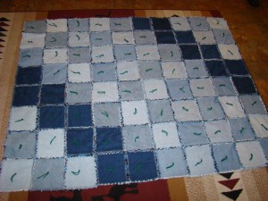 rag quilt finish 001