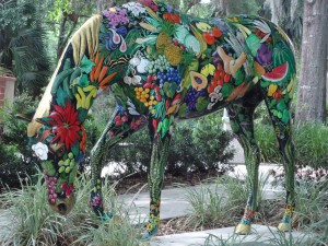 Beautiful painted horses of Ocala