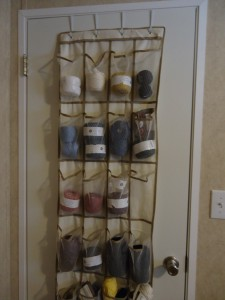 Over The Door Shoe/Yarn Organizer