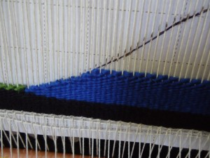 Weaving by the shape is foreign to me