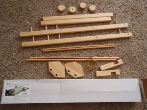 All the pieces of the Loom - out of the box