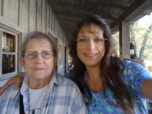 Mom and me at Dollywood