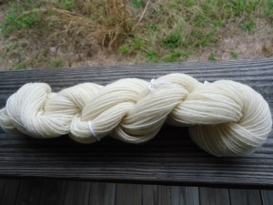 Second sample yarn skein
