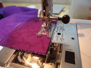 "1/2"" seam allowance, sew wrong sides together"